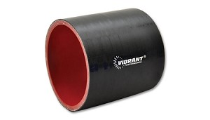 "Vibrant Performance Rubber Coupler - 4"" I.D x 3"" Long"